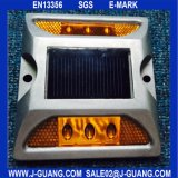 Solar Aluminio Road Stud, Road Reflectores, Road Cat Eyes