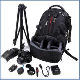 Sac neuf d'appareil-photo de Digitals DSLR de sac à dos de toile d'Arrvial