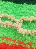 Пряжа половинного вязания крючком Knit руки Microfiber пера бархата причудливый крючком