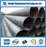 API 3PE FBE hueco del acero Sección espiral soldada Tubos de acero para agua de gas