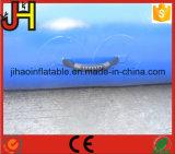 Подгонянный гигантский квадратный раздувной голубой плавательный бассеин для парка воды