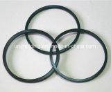 Schwarze runde Gummidichtungen. Automobil-Ersatzpartition-O-Ring. Ersatzteile