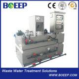 Unidad de dosificación y de relleno del polímero automático