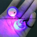 2017 Fidget Thumb Chucks com LED Light Yoyo