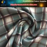 Tissu en polystyrène de gabardine avec impression de transfert de chaleur pour le Shirting