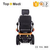 Кресло-коляска силы Shocking батареи доказательства отделяемой возлежа электрическая