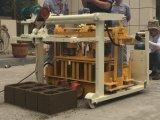 Machine de fabrication de brique concrète mobile, petit bloc de ponte d'oeufs faisant la machine
