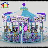 12 portées Joyeux-Aller-Autour de matériel d'amusement pour la conduite de carrousel d'amusement de famille