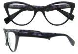 Nuovo blocco per grafici di vetro ottici del monocolo di Eyewear delle azione del commercio all'ingrosso dell'acetato di modo