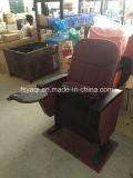 Auditorio de la Iglesia Yaqi silla con reposabrazos de plástico y Tablet PC (ya-04P)