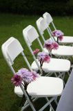 Klassischer Outdorr Plastikfalz-Stuhl