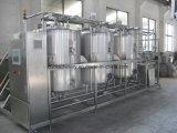 De gespleten semi-Auto CIP die van het Type in-Place Systeem voor Brouwerij en Sap schoonmaken