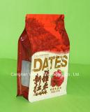 Пластичный мешок упаковки еды квада с застежкой -молнией
