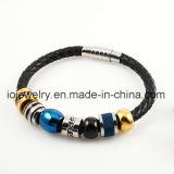 De Armband van het Leer van Juwelen DIY voor Mensen