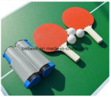 Conjunto de raquete de tênis de mesa com rede