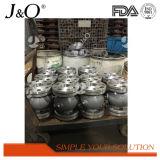 Aleación de aluminio industrial de Pnumatic de la alta cantidad que exprime la válvula de sujetador