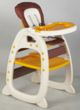 Heiße Verkaufs-Baby-Produkte, die hohen Stuhl mit europäischem Standard (CA-HC550, führen)
