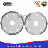 100mm Hot Pressed Super Thin Turbo Diamond Céramique et carrelage Cutting Blade