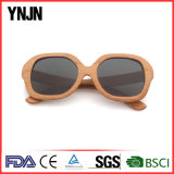 Vidros UV400 polarizados Sun de madeira feitos sob encomenda da personalidade de Ynjn (YJ-MP080)