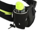 Мешок шкафута пояса Lycra спортов идущий с держателем бутылки для марафона