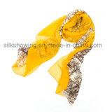 Digital gedruckten Silk Gewebe-Chiffon- Schal kundenspezifisch anfertigen