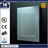 Зеркало Defogger рамки UL Approved алюминиевое освещенное контржурным светом СИД загоранное