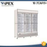 Congelatore verticale, congelatore commerciale dritto 1800L