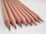 Карандаш пробочки деревянный с карандашем карандаша Hb истирателя естественным деревянным
