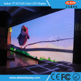 Écran polychrome fixe d'intérieur de l'Afficheur LED P7.62 pour la publicité