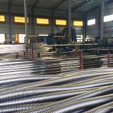 Tuyau métallique annulaire ondulé avec traces