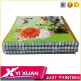 Cuaderno espiral impreso personalizado al por mayor con papel de color