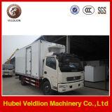 Qualität Performance Refrigerator Van Truck für Fleisch-und der Fisch-4X2 Minikühlraum-LKW gekühlten LKW