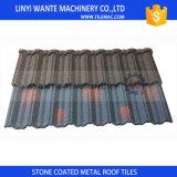 Tuile en aluminium enduite de construction de pierre neuve de matériau sur le marché de la Jamaïque