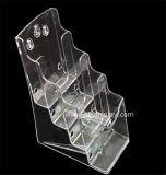 Duidelijke Plastic A6 4 Fabrikant btr-H6312-2 van de Houder van de Brochure van Banden