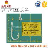 Crochet courbé rond de la mer 2335 avec la boucle