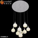 Heiße Verkaufs-Ozean-Beleuchtung Morden LED, das preiswerten Anhänger beleuchtet, beleuchtet LED-hängendes Licht Om8801-9