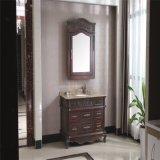 旧式な様式のカシ木衛生製品の浴室の虚栄心