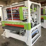 Máquina de calibración y de pulido de la madera contrachapada de la chorreadora