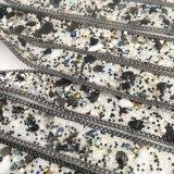 Bördelt der neue Element2017 Rhinestone, der heiße Verlegenheit trimmt, Rhinestone-Kette für Kleid-Zubehör (TP-20mm Schwarzes)