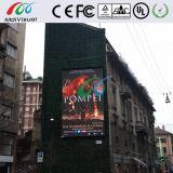 광고를 위한 옥외 정면 접근 디지털 발광 다이오드 표시 스크린