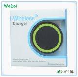 iPhoneおよびSamsung (WY-CH01)のためのチーの熱い販売の携帯用無線充電器