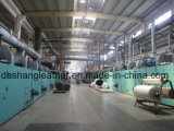 Couro sintético do PVC do projeto novo no fornecedor da mobília de China (DS-A911)