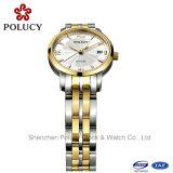 Женщины стали Stainess часы Популярные смотреть Китай Wholesales запястного шарнира