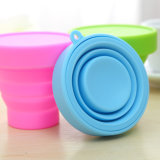 Складной силикон BPA качества еды освобождает бутылки перемещения бутылки/силикона воды спортов