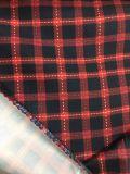 ジャケットのための100%年のポリエステル小切手によって印刷されるファブリック