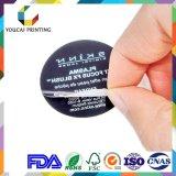 De professionele Goedkope Gemakkelijke Schil Van uitstekende kwaliteit van de Levering van de Stickers van het Etiket