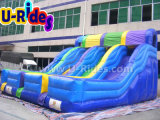 Commercial 3 Lines inflatable slide inflatable jumping slide for indoor and outdoor