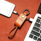 Colorido cargador y transferencia de datos Cable plano USB para iPhone