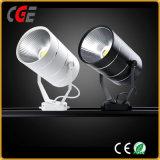 LED 20W de luz vía Spotlight para tiendas de tela vía lámparas PAR30