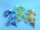 Unstuffed lindo ratón de juguete para mascotas a morder y masticar